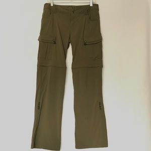 Prana Outdoor Convertible Pant 3 in 1 Size 8 (H13)